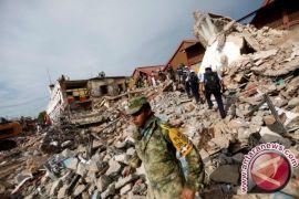 Puluhan tewas akibat gempa dahsyat sekali di Meksiko
