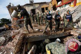 Jumlah korban jiwa akibat gempa di Meksiko jadi 90