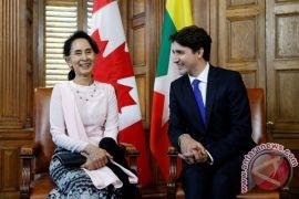 PM Kanada desak Suu Kyi akhiri kekerasan di Myanmar
