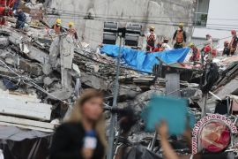 Meksiko temukan jasad terakhir dari reruntuhan pascagempa bumi