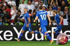 Gebuk Kosovo 2-0, Islandia jadi peserta terkecil Piala Dunia 2018