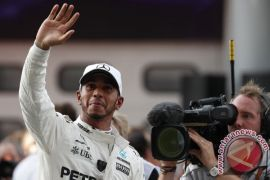 Hamilton juara Grand Prix F1 di AS