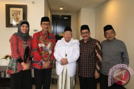 Produser Naura dan Genk Juara temui ketua umum MUI