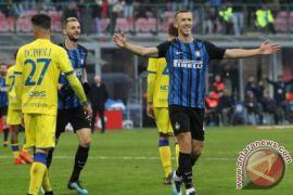 Inter Milan puncaki klasemen usai gilas Chievo 5-0