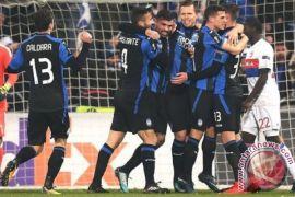Atalanta geser Lyon dari puncak klasemen Liga Europa