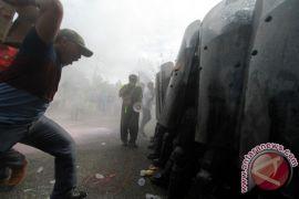 Brimob Gorontalo Gelar Simulasi Pengamanan Tanggap Darurat