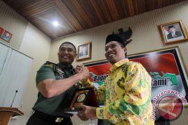 Komisi 1 DPR Tinjau Perkembangan Korem Gorontalo