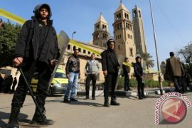 Massa serang gereja di Mesir