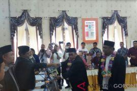 Adhan-Hardi Resmi Mendaftar ke KPU