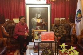 Gubernur Gorontalo Sampaikan Kondisi Daerah ke Mendagri