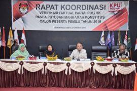 Parpol Diminta Kumpulkan Anggotanya Saat Verifikasi Faktual