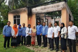 Pemkab Gorontalo-PKK Renovasi Rumah Korban Kebakaran