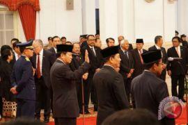 Presiden Jokowi Pilih Idrus Karena Dianggap Paling Cocok