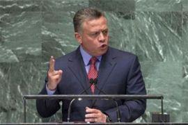 Raja Yordania Mendesak Dunia Dukung Palestina
