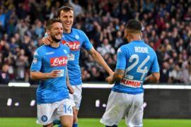 Napoli kembali menempati puncak klasemen Liga Italia (Serie A)