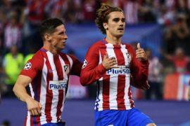 Penyerang Atletico Madrid Cetak Trigol Perdananya Musim Ini