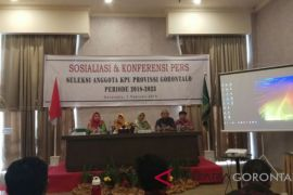 Timsel sosialisasikan perekrutan anggota KPU Gorontalo
