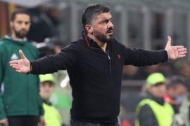 Gatuso: AC Milan Bermain Tidak Kompak
