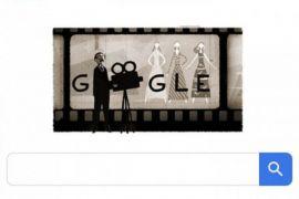 Google Doodle di Indonesia Tampilkan Sosok Usmar Ismail