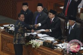 Wartawan Dari Berbagai Media Deklarasi Tolak UU MD3