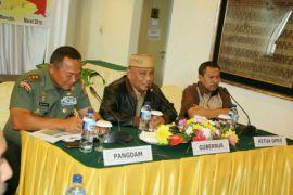 Pemprov Gandeng TNI-Polri di Program Padat Karya