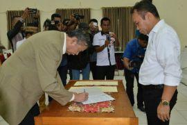 Bibit Samad Rianto Sahkan DPD GMPK Gorontalo