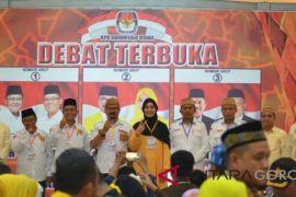 Debat Terbuka Cabup/Cawabup Gorontalo Utara