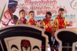 KPU Gorontalo Tampilkan Musik Tradisional Sosalisasikan Pemilu