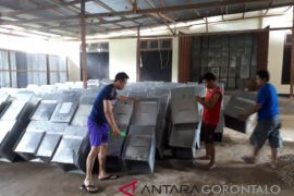 KPU Gorontalo Utara Mulai Siapkan Logistik Pilkada 2018