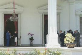 Presiden Bahas Upaya Peningkatan Ekonomi Dengan Sejumlah Dubes