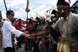 Presiden Optimistis Pembangunan Infrastruktur Asmat Berjalan Lancar