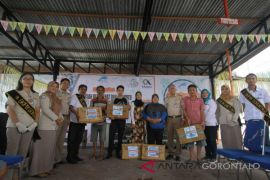 SKIPM Gorontalo Bagikan 500 KG Ikan Segar