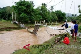 Dinas PU: Rehabiltasi Jembatan Buhu Butuh Rp1 Miliar