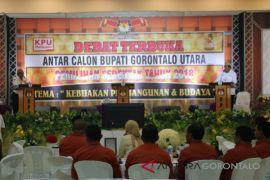 Foto - Debat Calon Bupati Gorontalo Utara