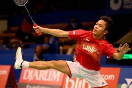 Indonesia Kalahkan Kanada di Penyisihan Thomas Cup