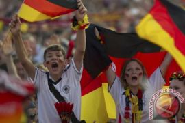 Pendukung Jerman Berharap Kemenangan di Dua Laga