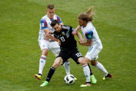 Argentina Ditahan Islandia 1-1