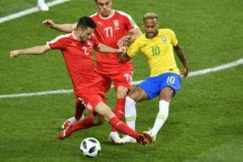 Brasil Bertemu Meksiko di 16 Besar