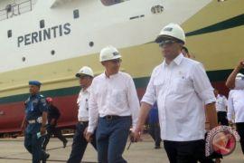 Menhub Tinjau Pembuatan Kapal Untuk Danau Toba