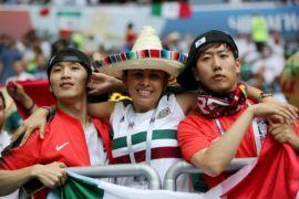 Pendukung Meksiko: Korea Saudara Kami