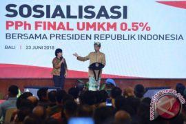 Presiden Mengingatkan Konsistensi Pemanfaatan PPh Final UMKM