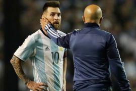 Argentina Kalah, Sampaoli: Salahkan Saya!