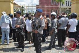 640 Personel TNI-Polri Amankan Rapat Pleno KPU Mimika