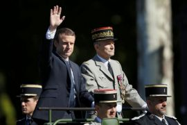 Presiden Macron Pimpin Perayaan Hari Bastille Dengan Parade Militer