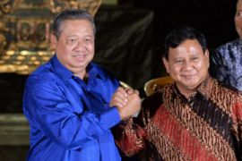 Prabowo dan SBY Bertemu Empat Mata