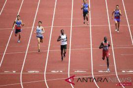 Delapan Atlet Perebutkan Emas Nomor Lari 400 Meter Putra