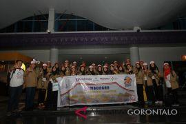 SMN Asal Lampung Tiba Di Gorontalo
