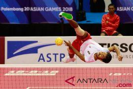 Timnas Putra Sepak Takraw Siap Hadapi Malaysia Di Final