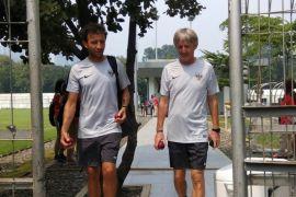 Timnas U-23 Indonesia Latihan Tertutup Jelang Laga Perdana