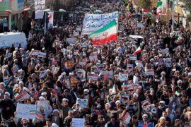 Unjuk Rasa Pecah Di Sejumlah Kota Iran Jelang Sanksi AS